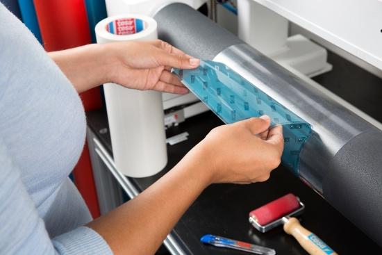 macchina da stampa flessografica nastri per montaggio cliché