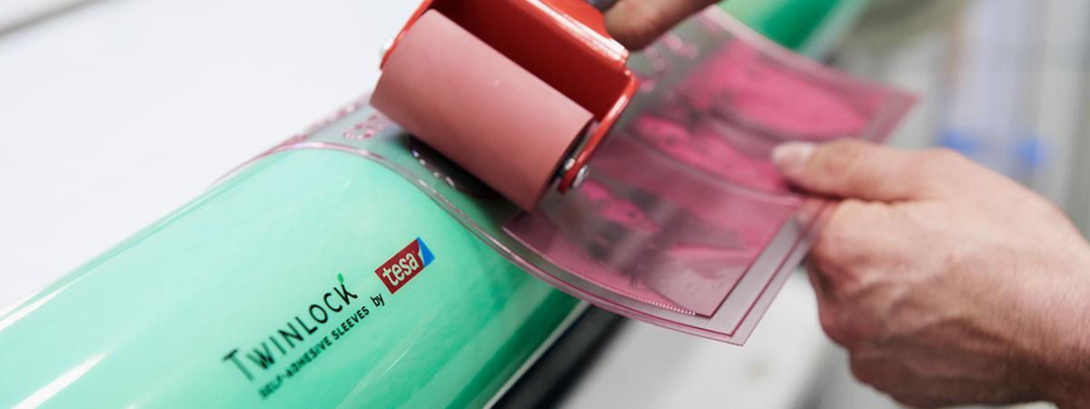 adesivi per montaggio matrici